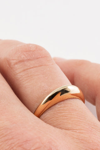 Colline ring | Brass