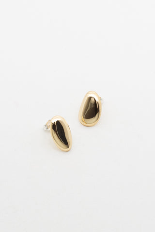 Small Esquive earrings | Brass