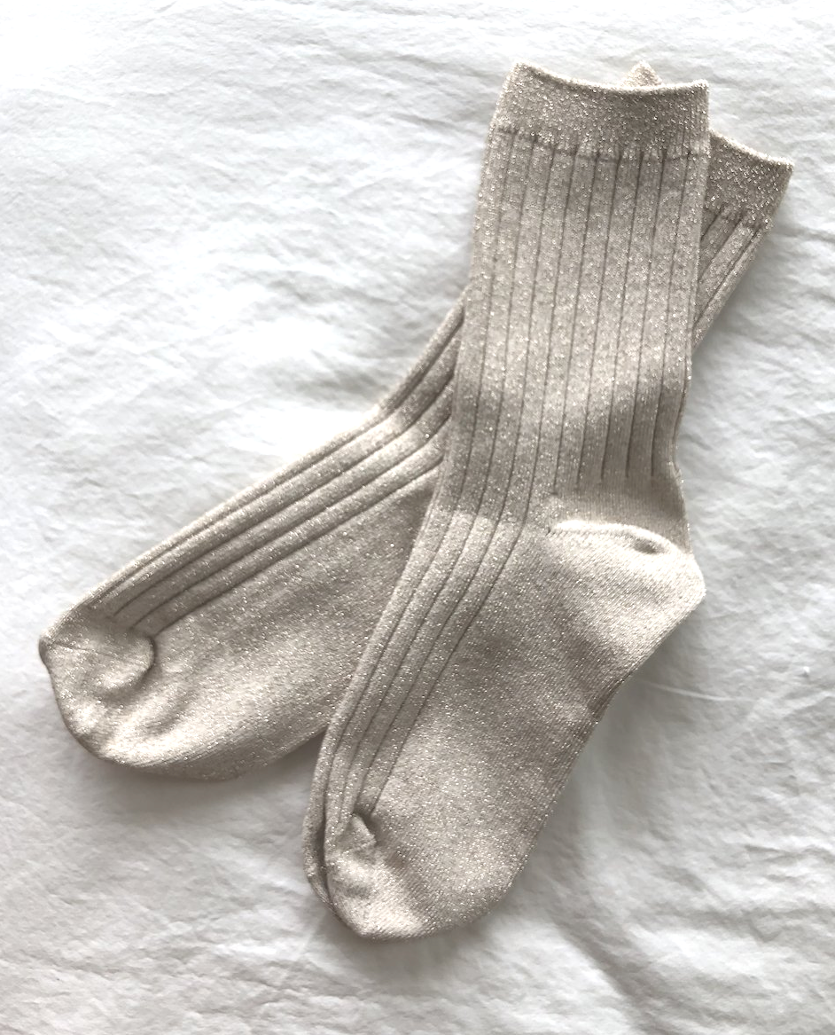 Chaussettes Lurex | Pearl