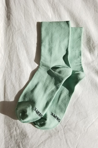 Chaussettes Pump | Mint chip