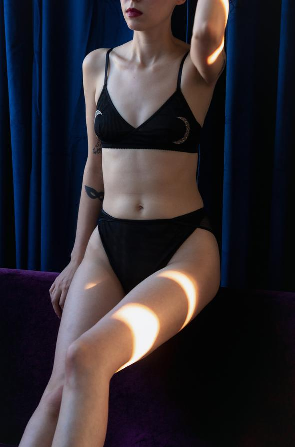 Culotte New Moon | Noir
