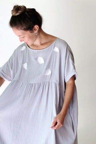 Cécilia Dress| Clouds