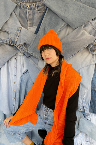 Tuque pampa | Orange
