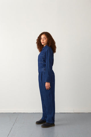 Cole Jumpsuit | Denim