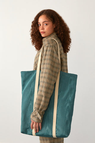 Grand tote bag Taro | Jade