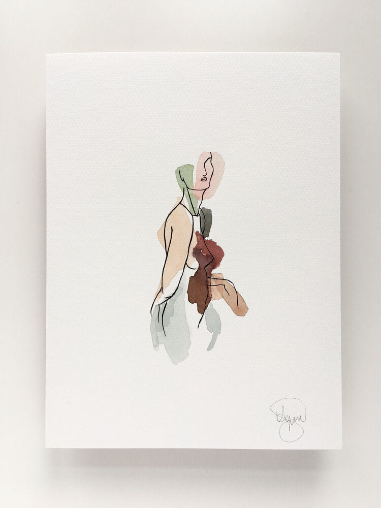 Illustration | Walking women