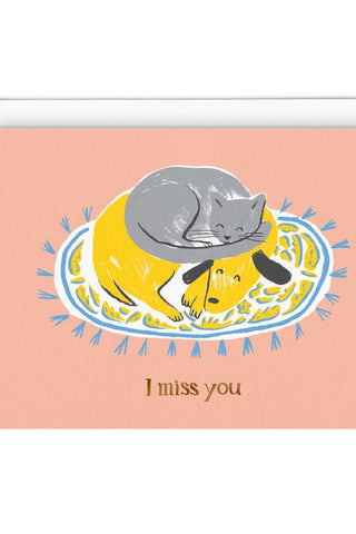 Carte de souhaits | Miss You