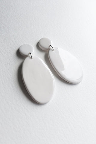 Boucles Olive | Blanc