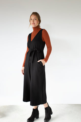 Victoria Jumpsuit| Black