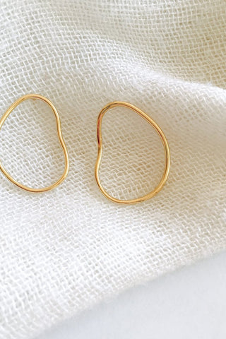 Rocca earrings (small) | Gold