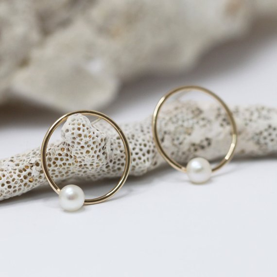 Cercles & perles | Or