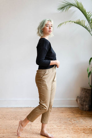 Peasy Pants | Walnut