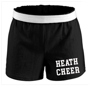 Black Cheer Shorts - Mandatory for Cheerleaders
