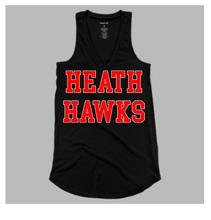 Flare Tank Black Hawks Ladies & Girls
