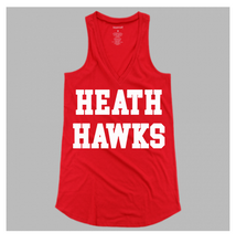 Flare Tank White Hawks Ladies & Girls