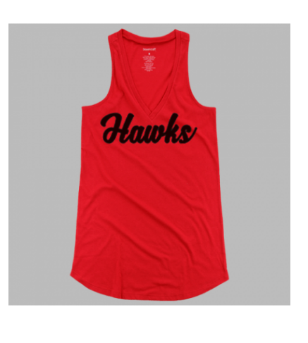 Flare Tank Red Hawks Ladies & Girls