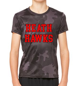 Heath Hawks Dri-Fit Short Sleeve Tee - Mens & Boys