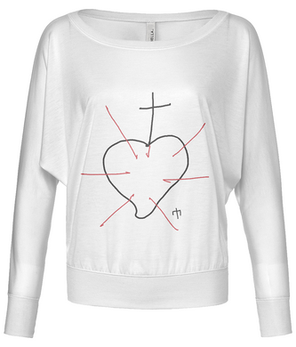 Women's Flowy long sleeve - BEATA VIRGO