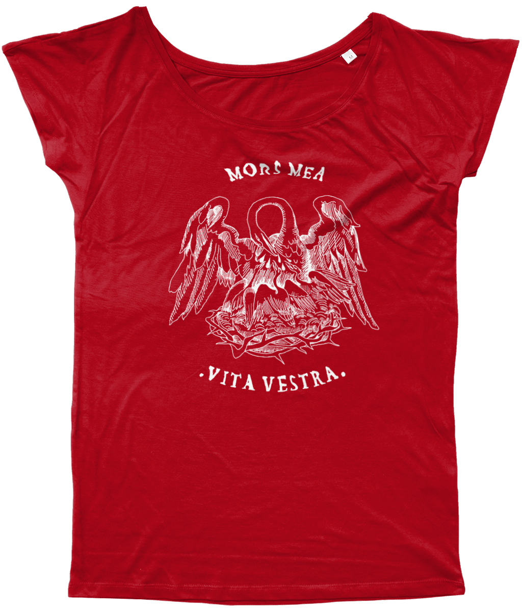 Women's Long T-Shirt - PELICAN (w)