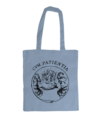 Shoulder Tote Bag - CUM PATIENTIA