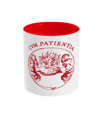 Two Toned Mugs - CUM PATIENTIA (r)
