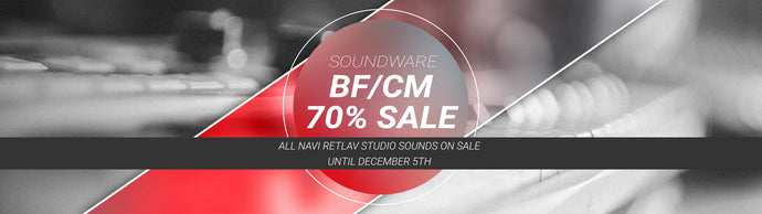 Free VST synth with NRS sounds and 70% BF/CM Sale