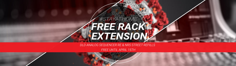 #StayAtHome - Free Rack Extension and ReFills