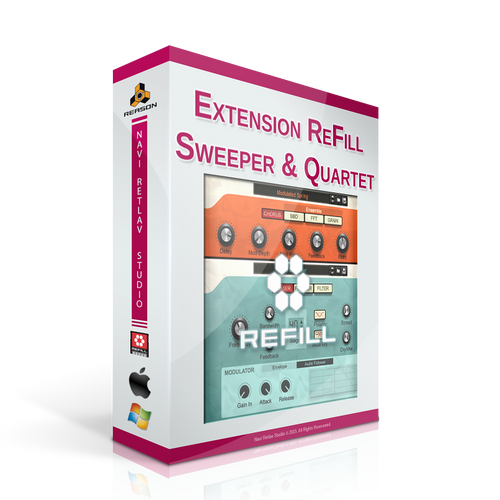 Extension ReFill - Sweeper & Quartet