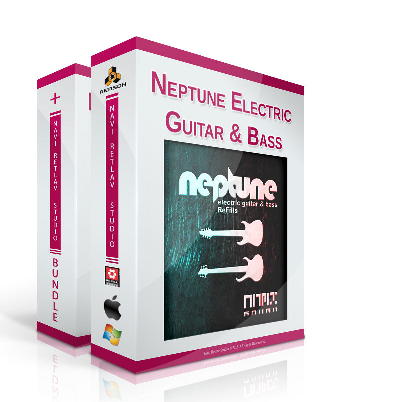 NRS - Neptune Electric Guitar & Bass Bundle