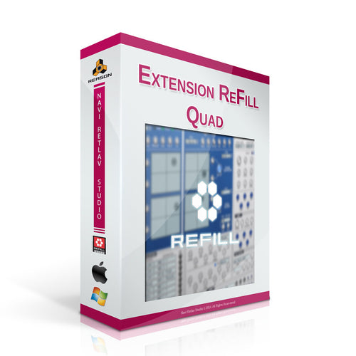 Extension ReFill - Quad