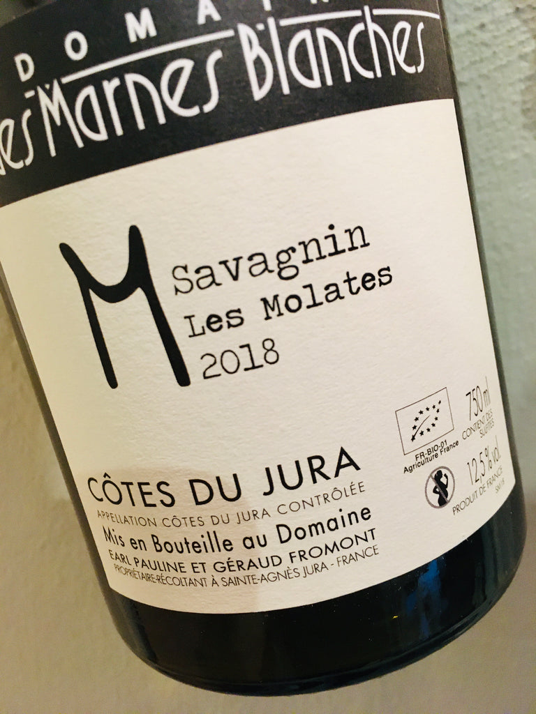 Domaine Marnes Blanches Savagnin Les Molates 2018