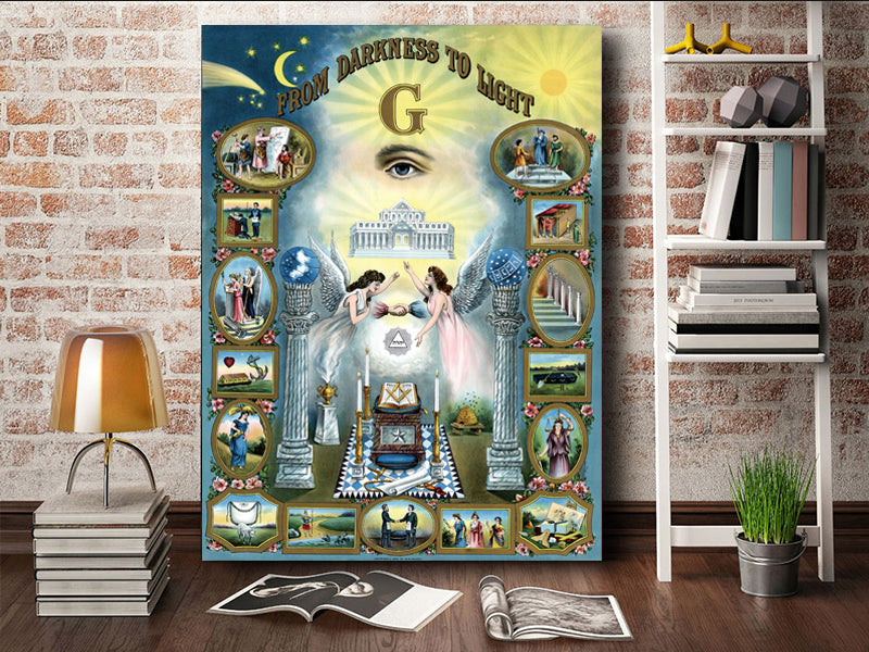 From Darkness To Light - Masonic canvas 4 – BemBig