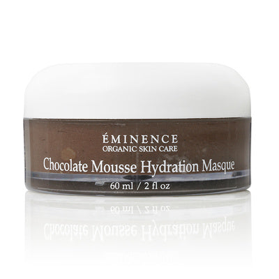Chocolate mousse hydratation masque