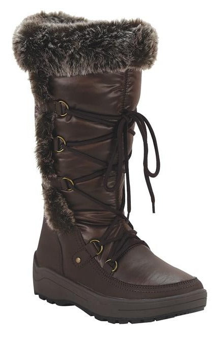 Nature Breeze Frost-01 Brown Snow Boots.