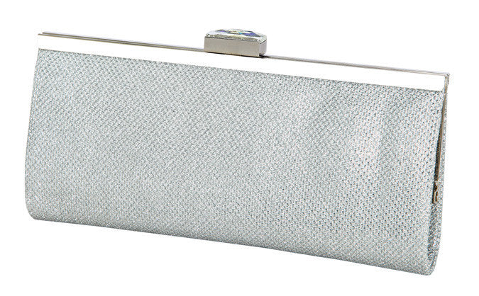 Hb-48G Anya Evening Clutch Silver
