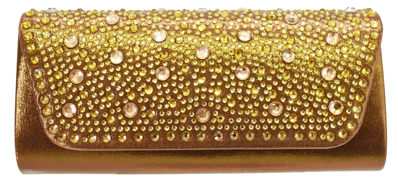 Starlet Evening Bag- Bronze