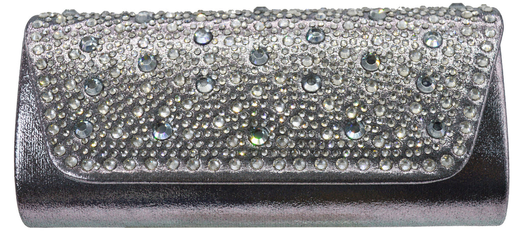 Starlet Evening Bag- Pewter
