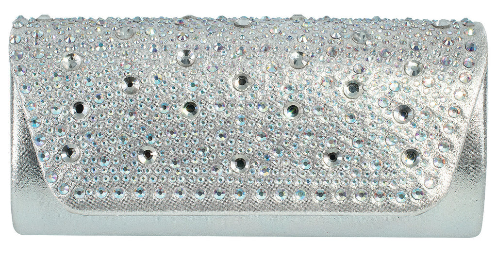 Starlet Evening Bag- Silver