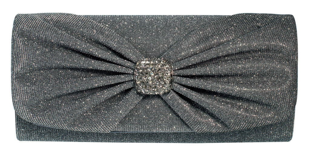 Savile Evening Bag - Pewter
