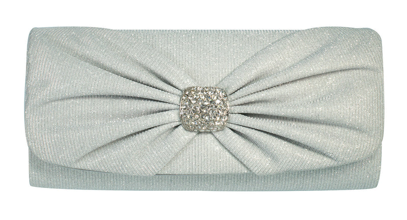 Savile Evening Bag - Silver