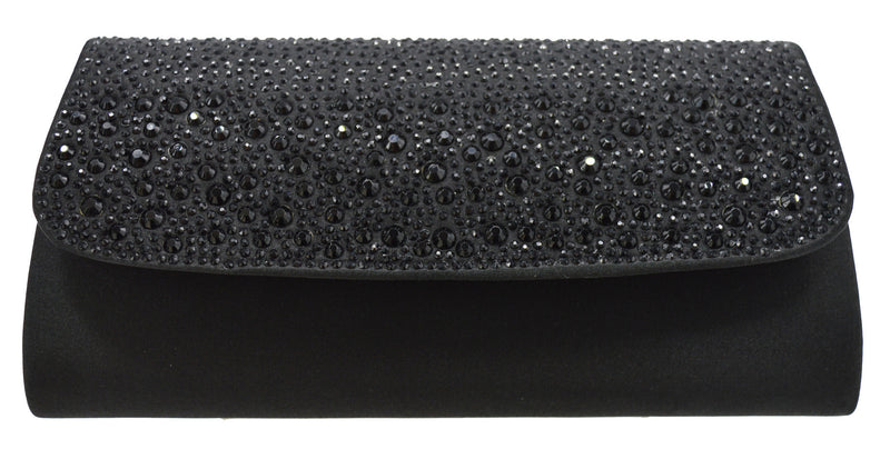 Forever Evening Bag- Noir