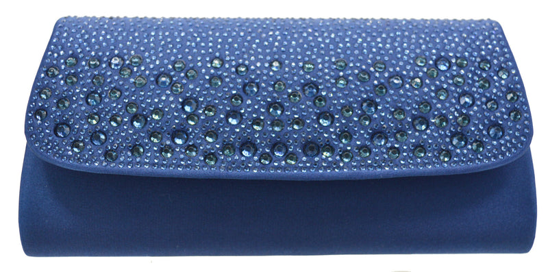 Forever Evening Bag- Navy