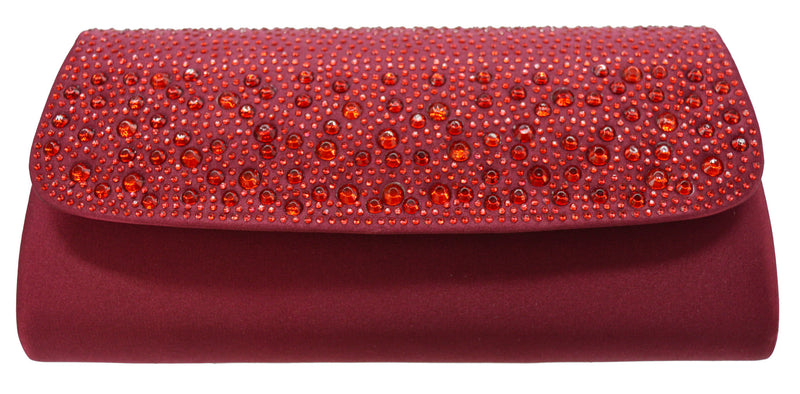 Forever Evening Bag- Wine
