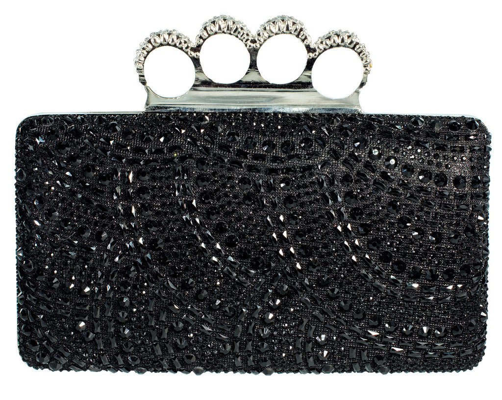 HB-CARINA-79 Evening Handbag - Black