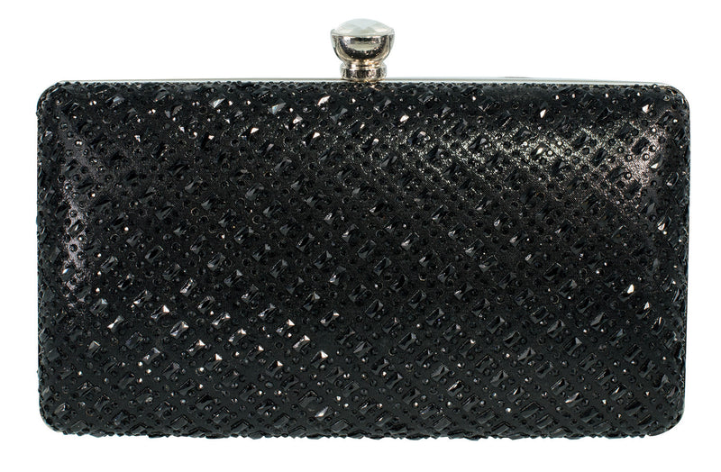 HB-CHARLES-1 Evening Handbag - Black