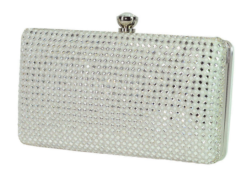 HB-DARLING-31 Evening Handbag - White