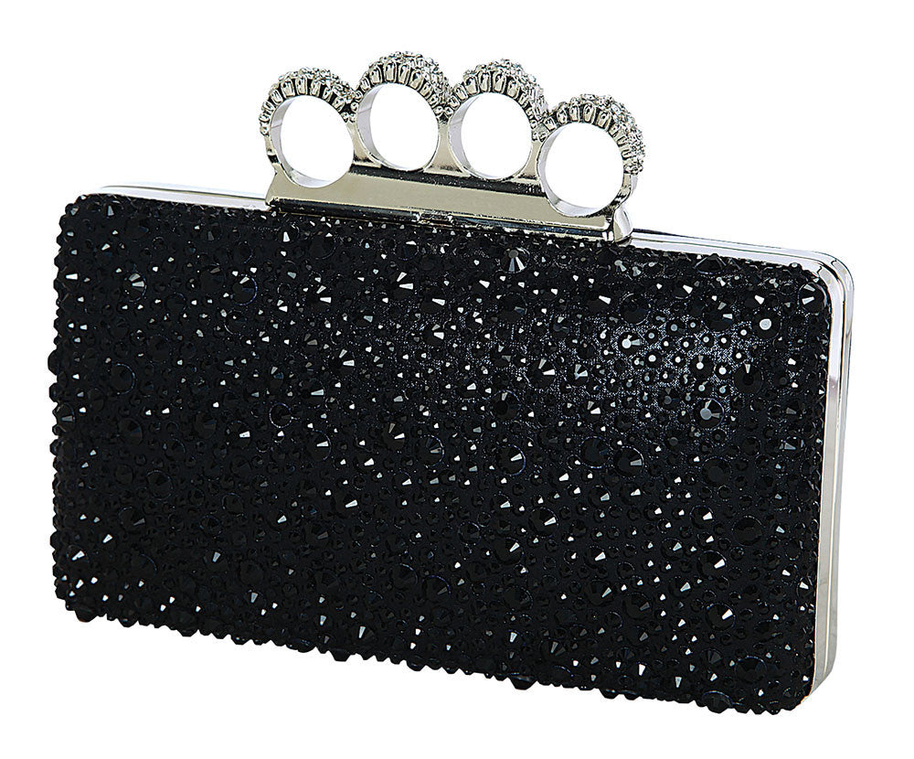 HB-KINKO-135 Evening Handbag - Black