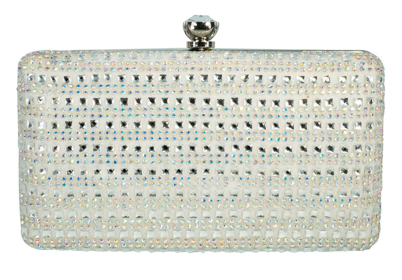 HB-MOLY-1 Evening Handbag - White