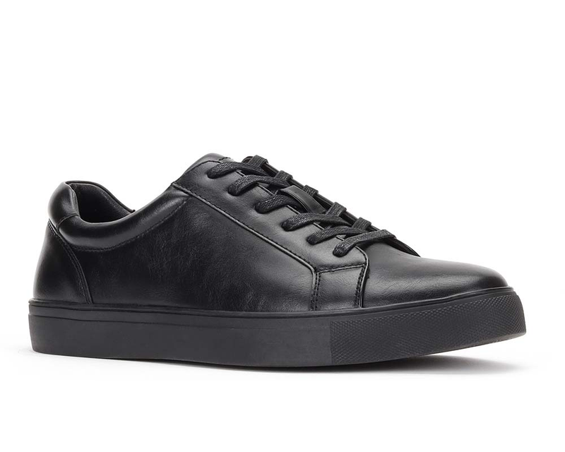 Jaxson JX-S2011 Black on Black Men Lace up Sneaker