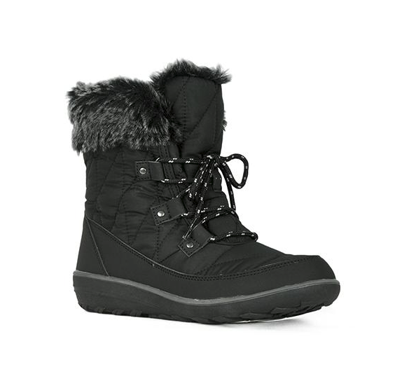 Refresh Hike-02 Black Ankle Snow Boot